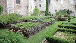 лекарственный сад в монастыре